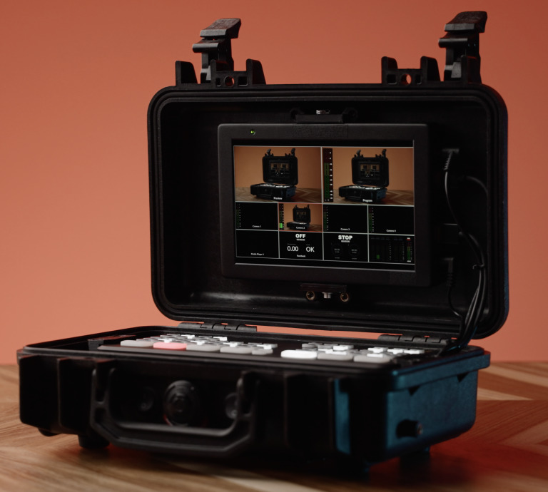 Custom ATEM Mini case with monitor built-in 5
