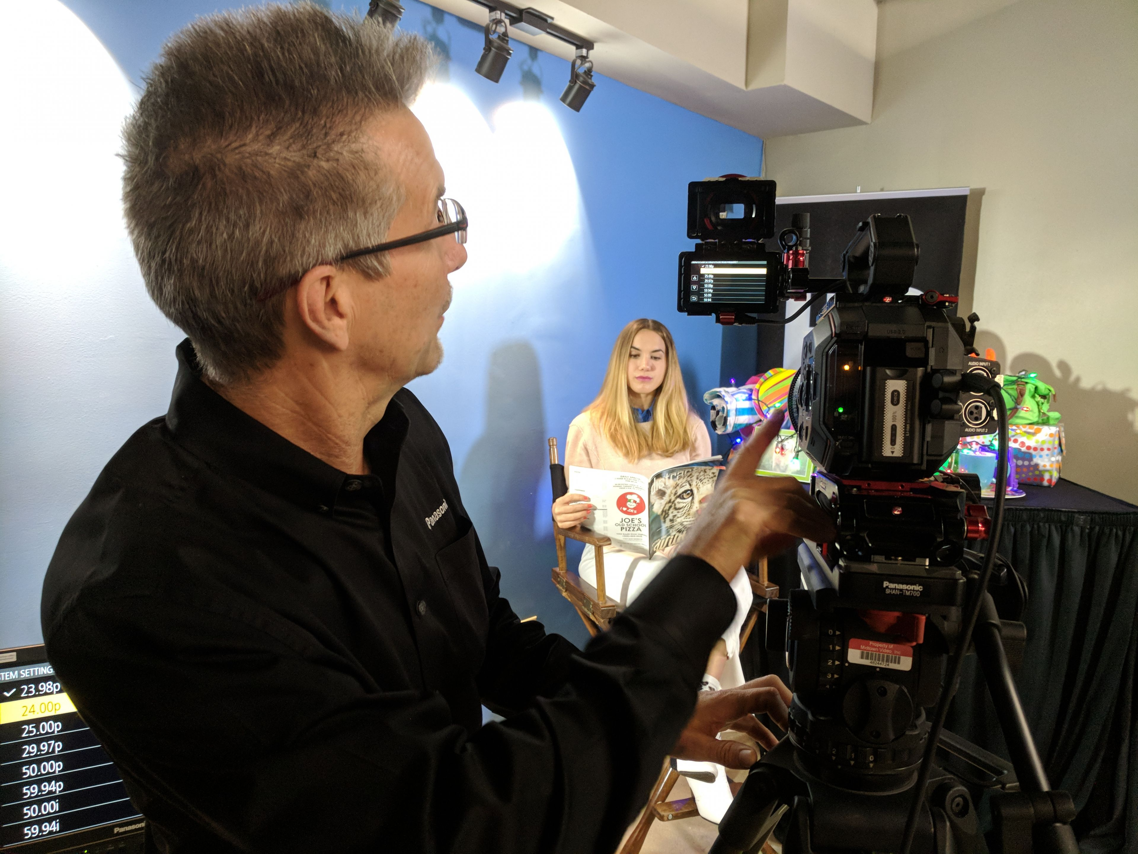 Midtown Video expo features Panasonic and LiveU 7