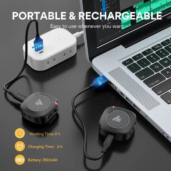 Review: Maono AU-WM820 wireless microphone system under US$100 29