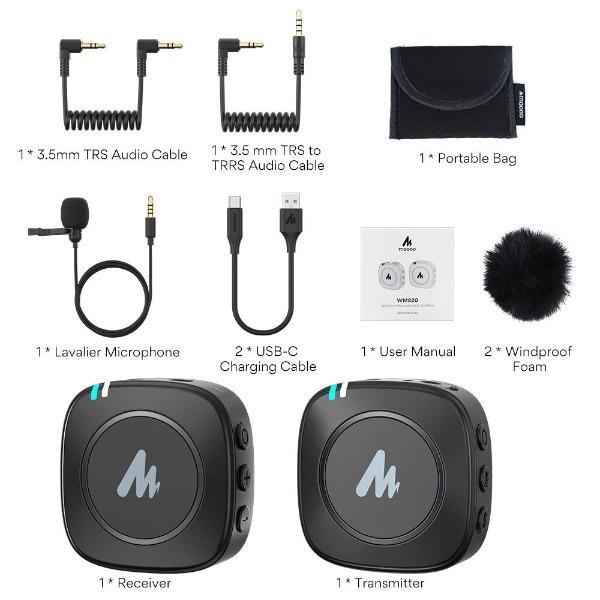 Review: Maono AU-WM820 wireless microphone system under US$100 27