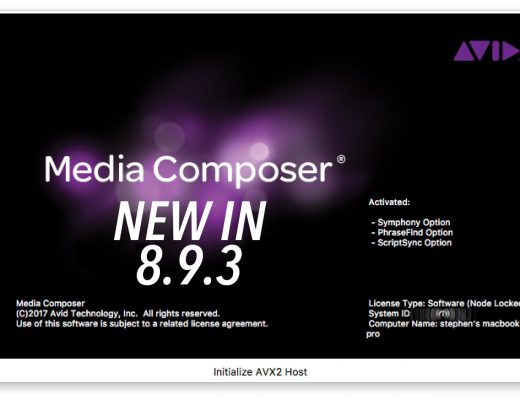 Latest Avid Release dropped today - some nice new features 2