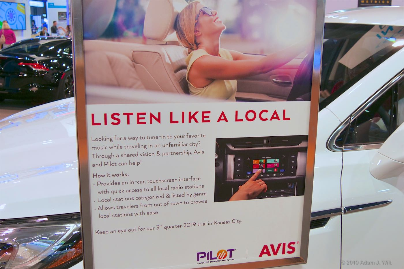 The AVIS PILOT radio experience