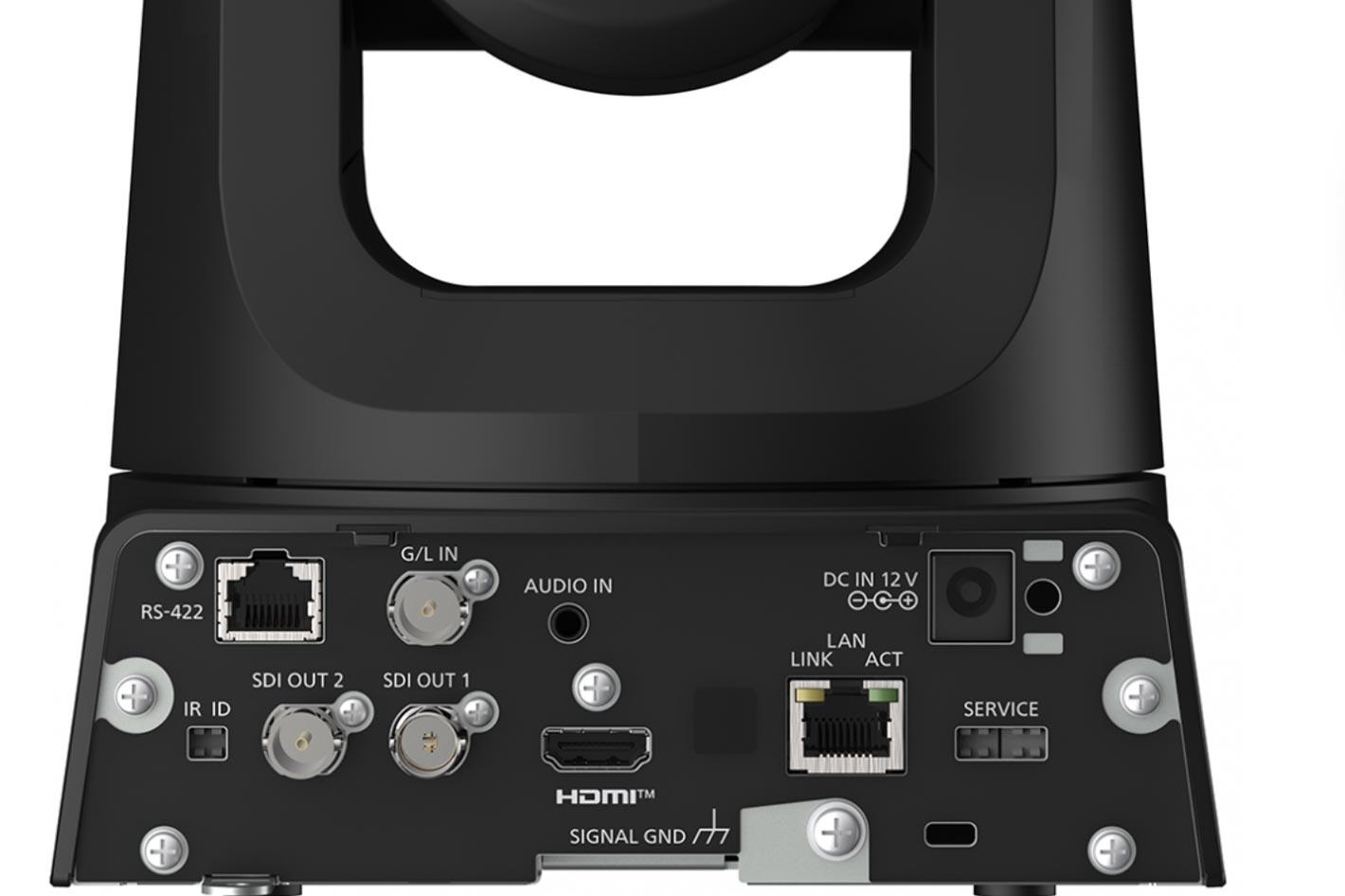 Panasonic AW-UE100 supports high-bandwidth NDI and SRT