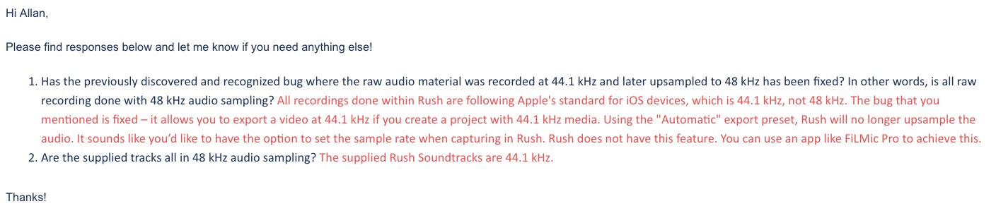 Adobe Rush adds features but keeps doing the audio wrong 3