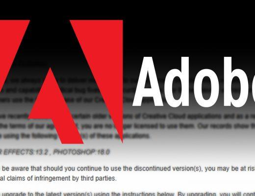 Adobe Tightens The Leash