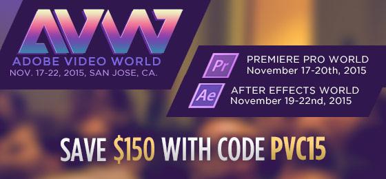 Adobe Video World Discount