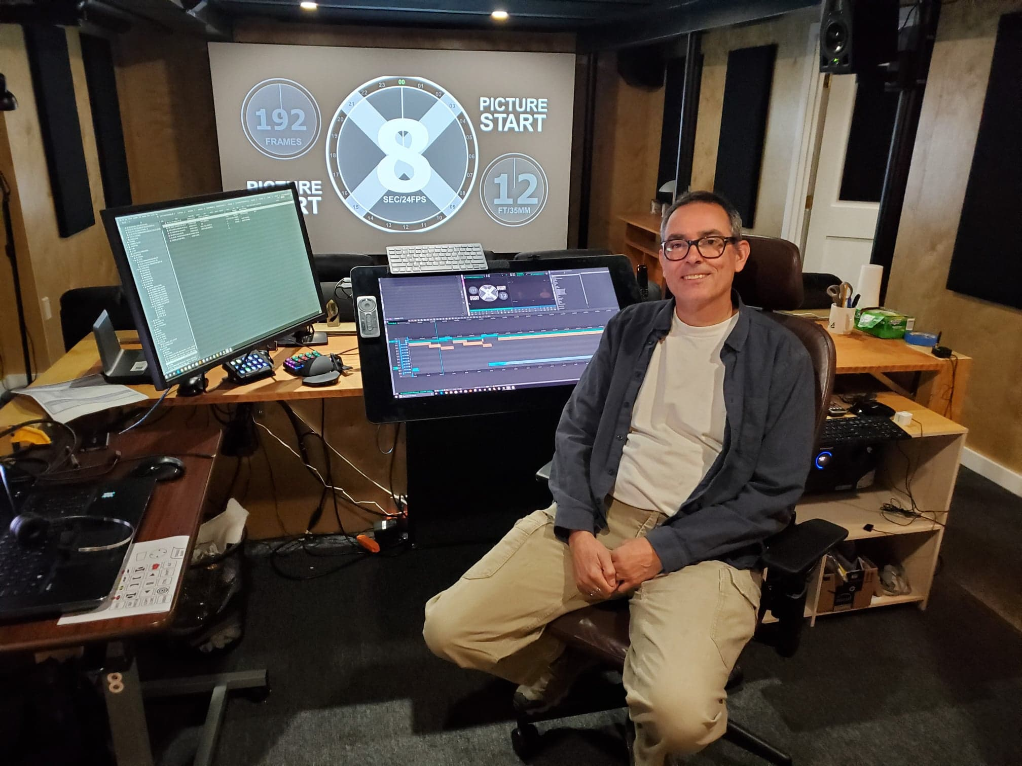 ART OF THE CUT with feature film editor, Roger Barton 12