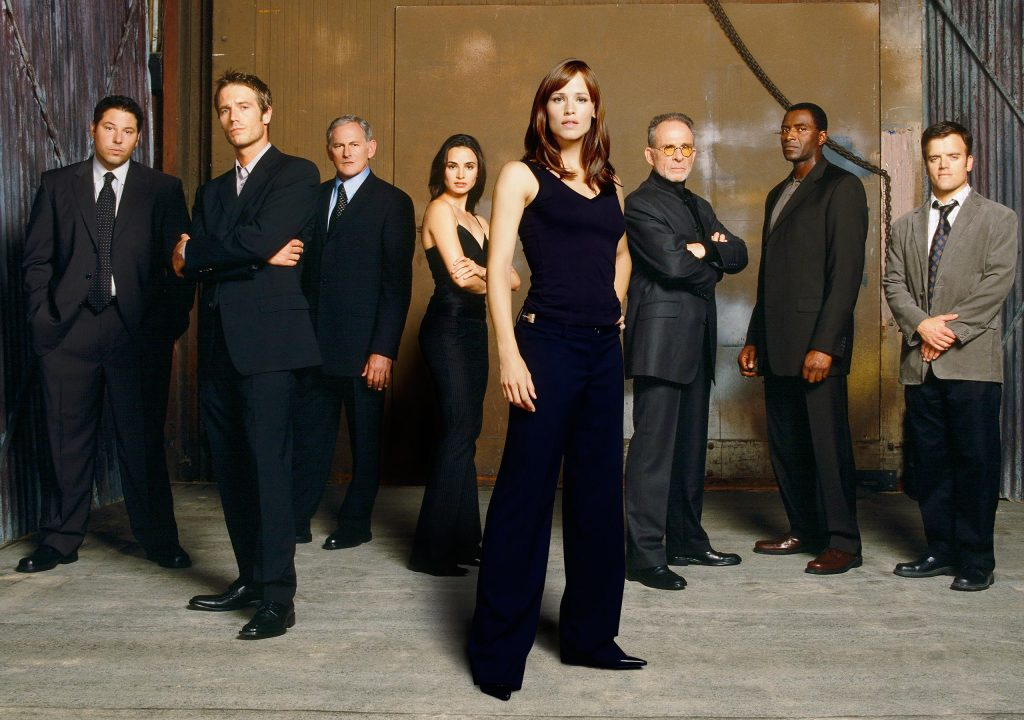"""Cast of TV show """"Alias"""""""