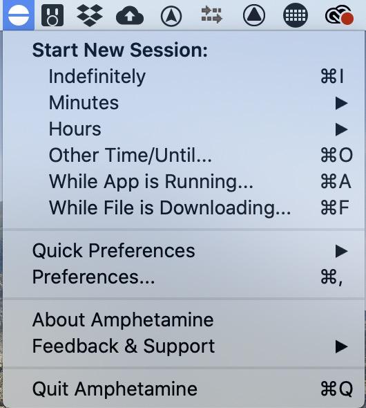 amphetamine-menu