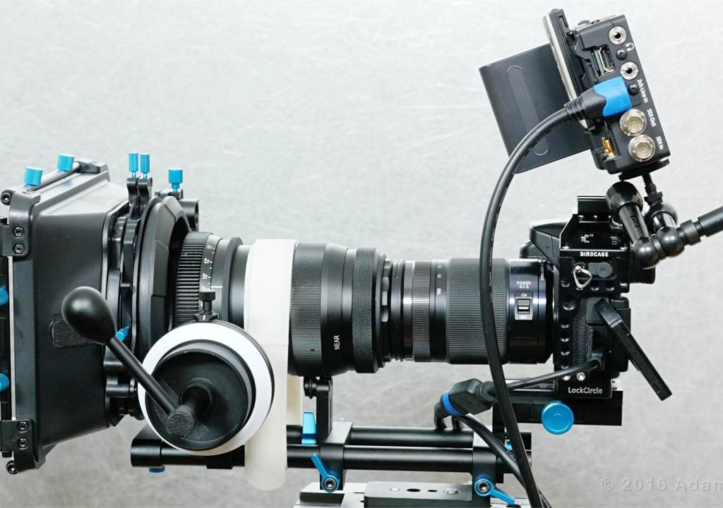 GH4 with an extra kilogram of glass