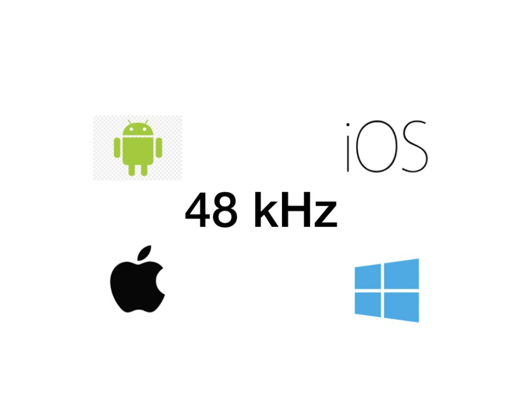 48 kHz: How to set it in Android, iOS, macOS and Windows 1