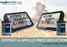 NAB specials on Apollo, Odyssey7Q+ monitor/recorders