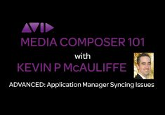 Media Composer 101 – ADVANCED – Application Manager Syncing Issues