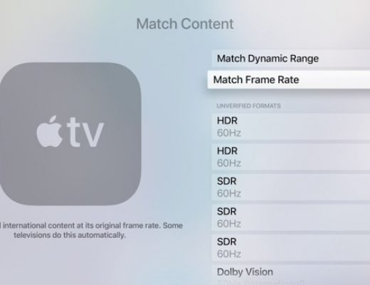 AppleTV adds Match Frame Rate & Match Dynamic Range options (part 1) 1