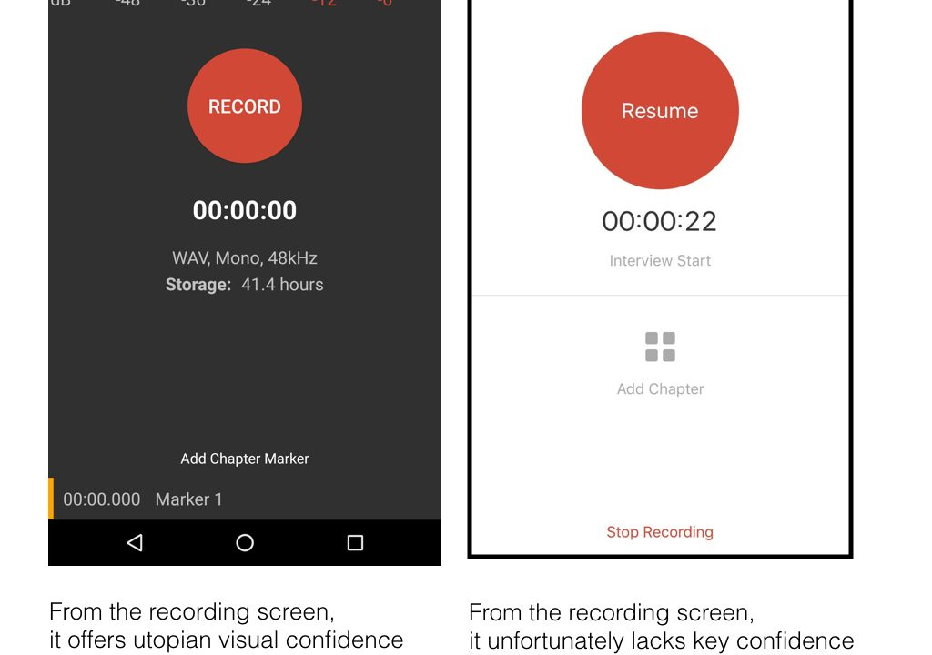 Auphonic audio recording app for Android & iOS: strong mixed emotions 1