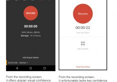 Auphonic audio recording app for Android & iOS: strong mixed emotions