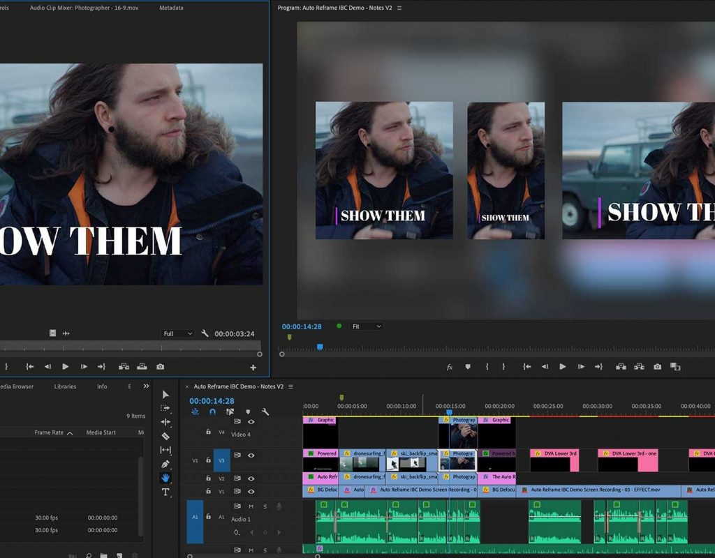 Auto Reframe: a Premiere Pro feature preview 1