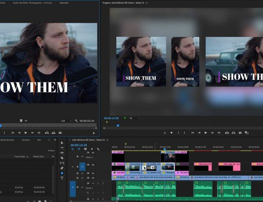 Auto Reframe: a Premiere Pro feature preview 7