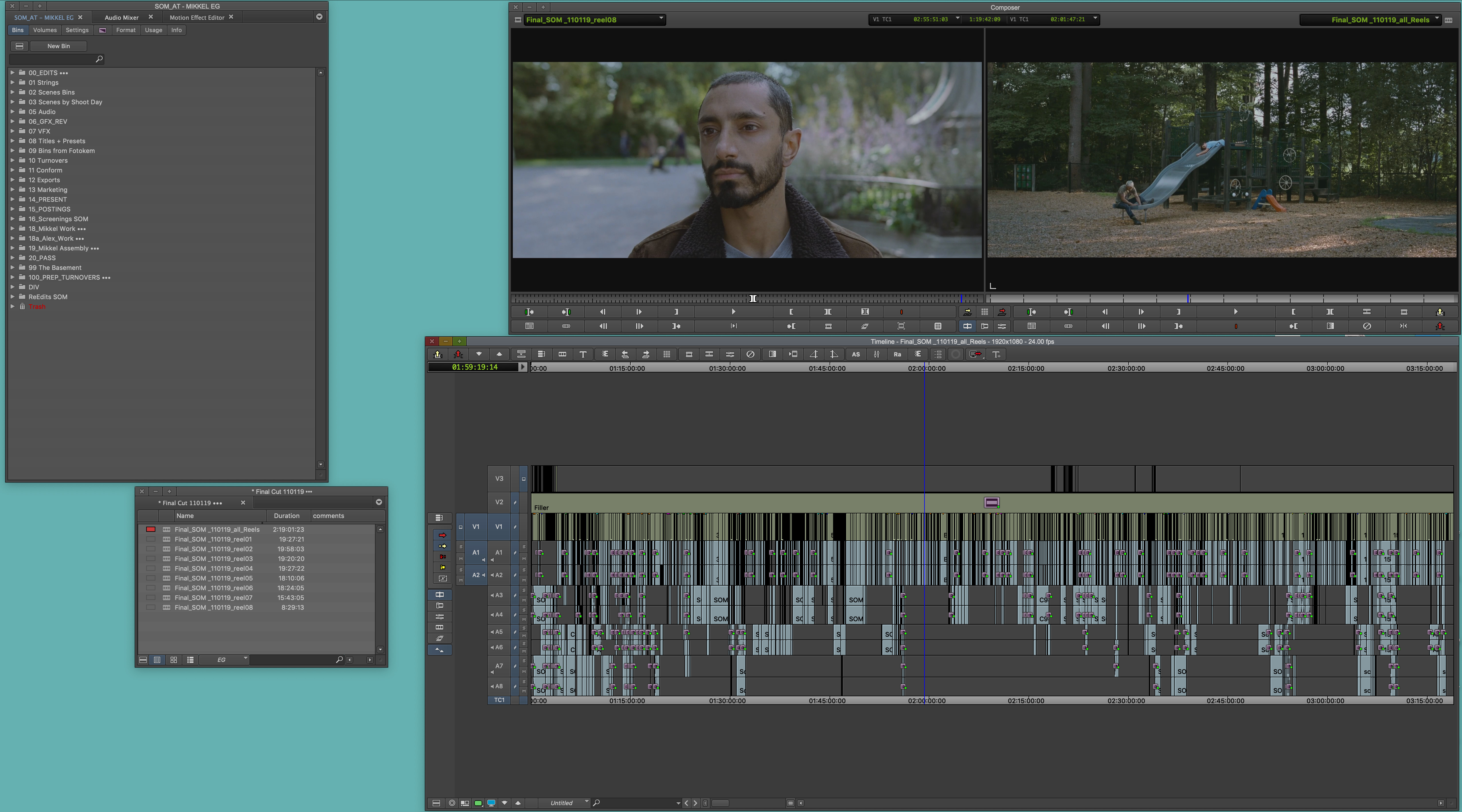 """ART OF THE CUT with Oscar winner Mikkel E.G. Nielsen on editing """"Sound of Metal"""" 16"""