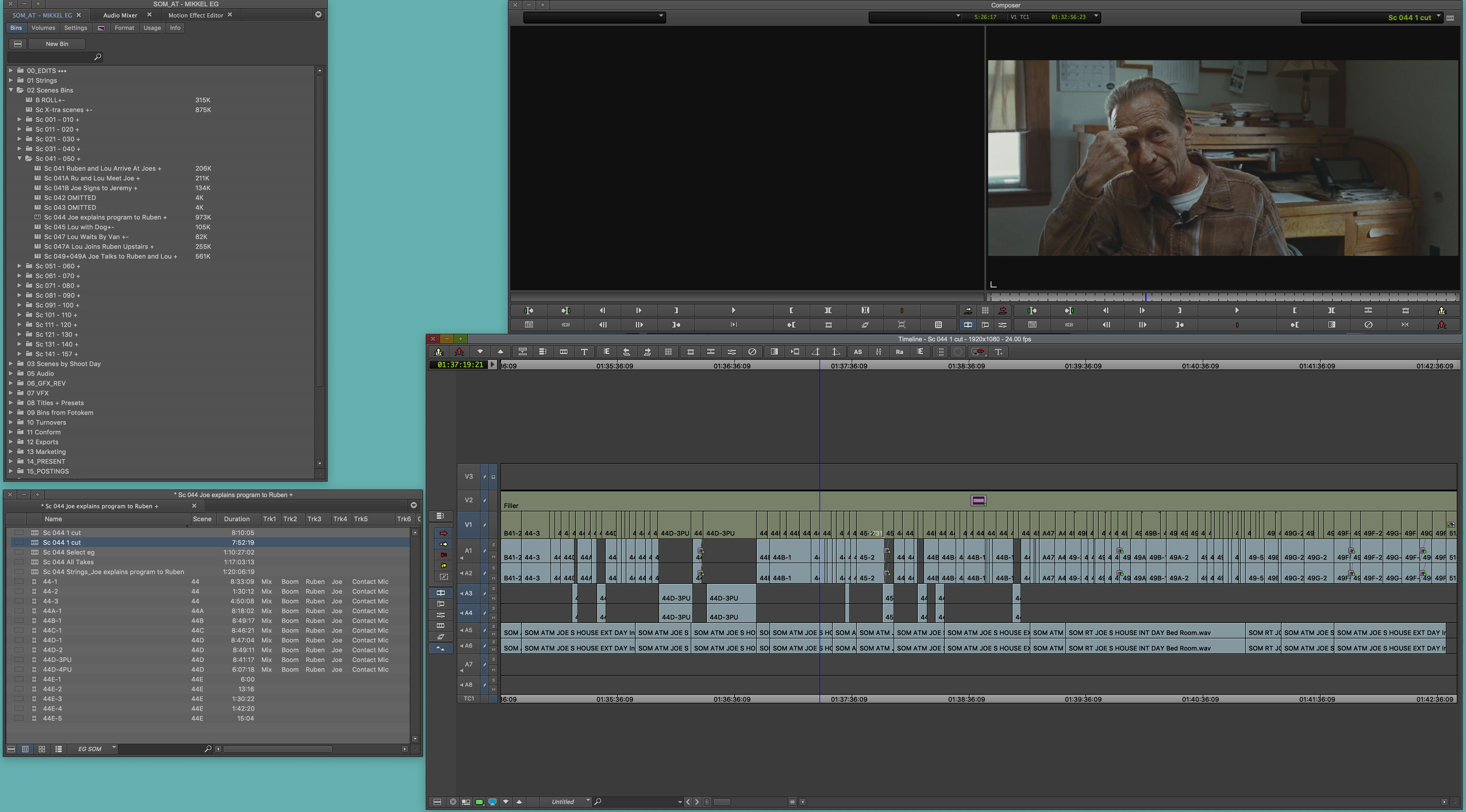 """ART OF THE CUT with Oscar winner Mikkel E.G. Nielsen on editing """"Sound of Metal"""" 11"""