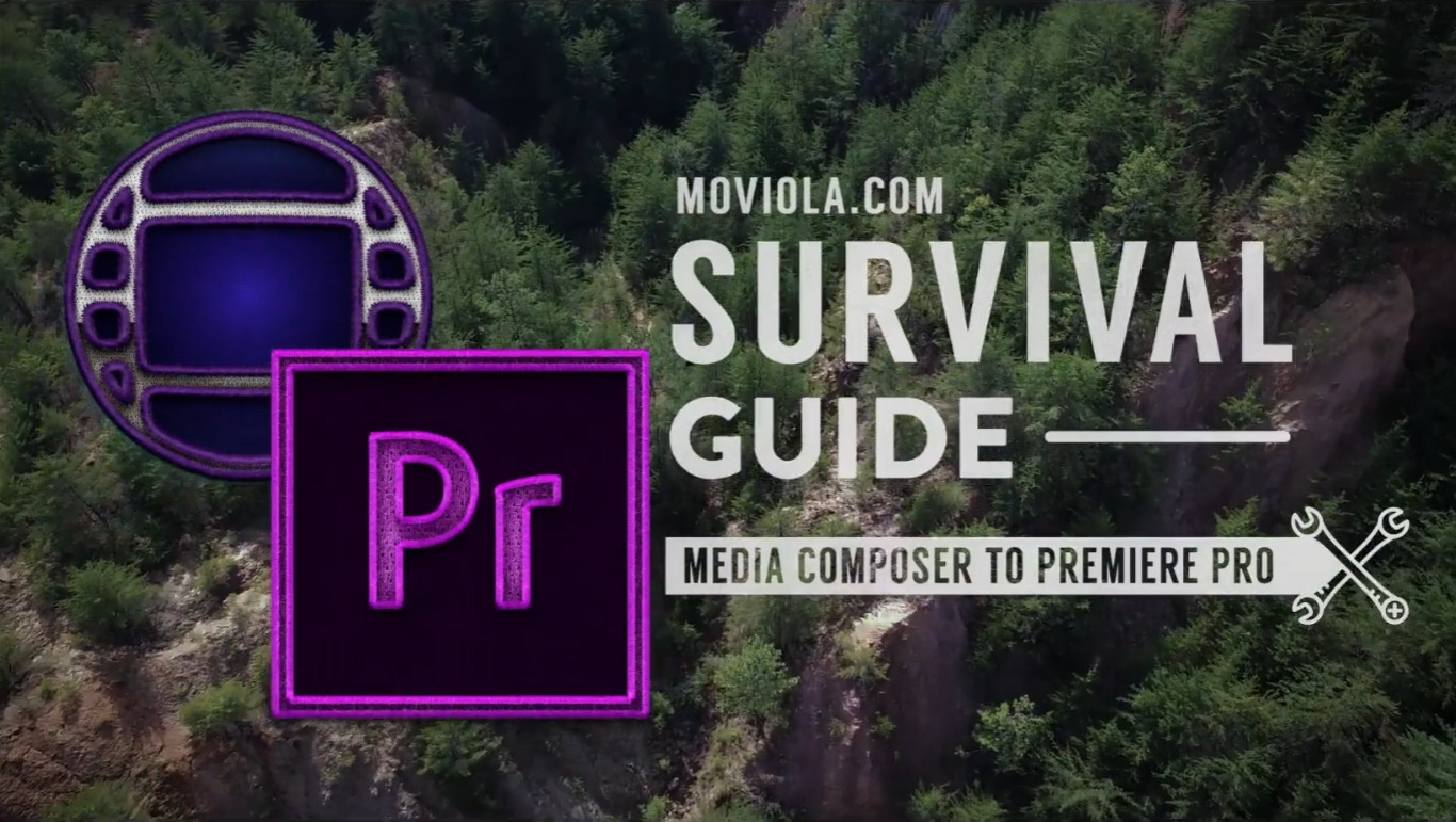 Moving from AVID to Premiere Pro: How's 45 minutes sound? 58