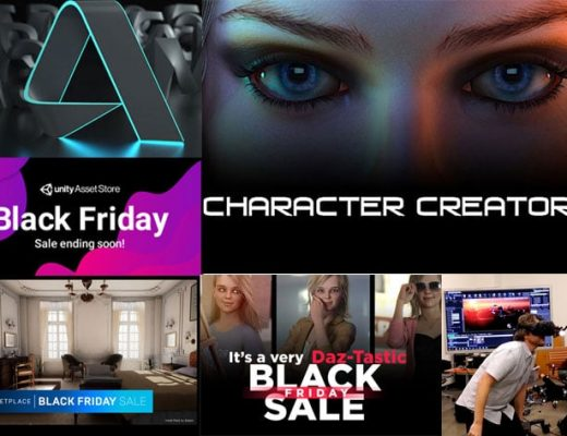 PVC's Black Friday 2019 best deals: animation and virtual production suggestions