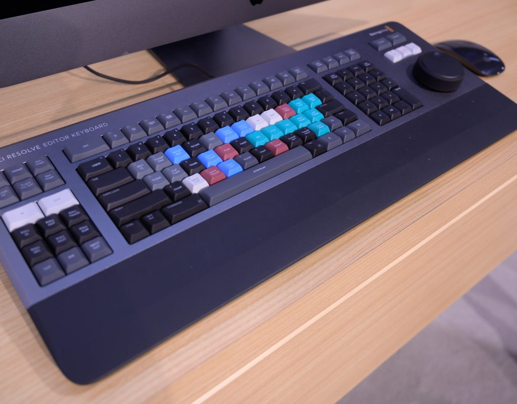 Burning questions about the DaVinci Resolve Editor Keyboard 9