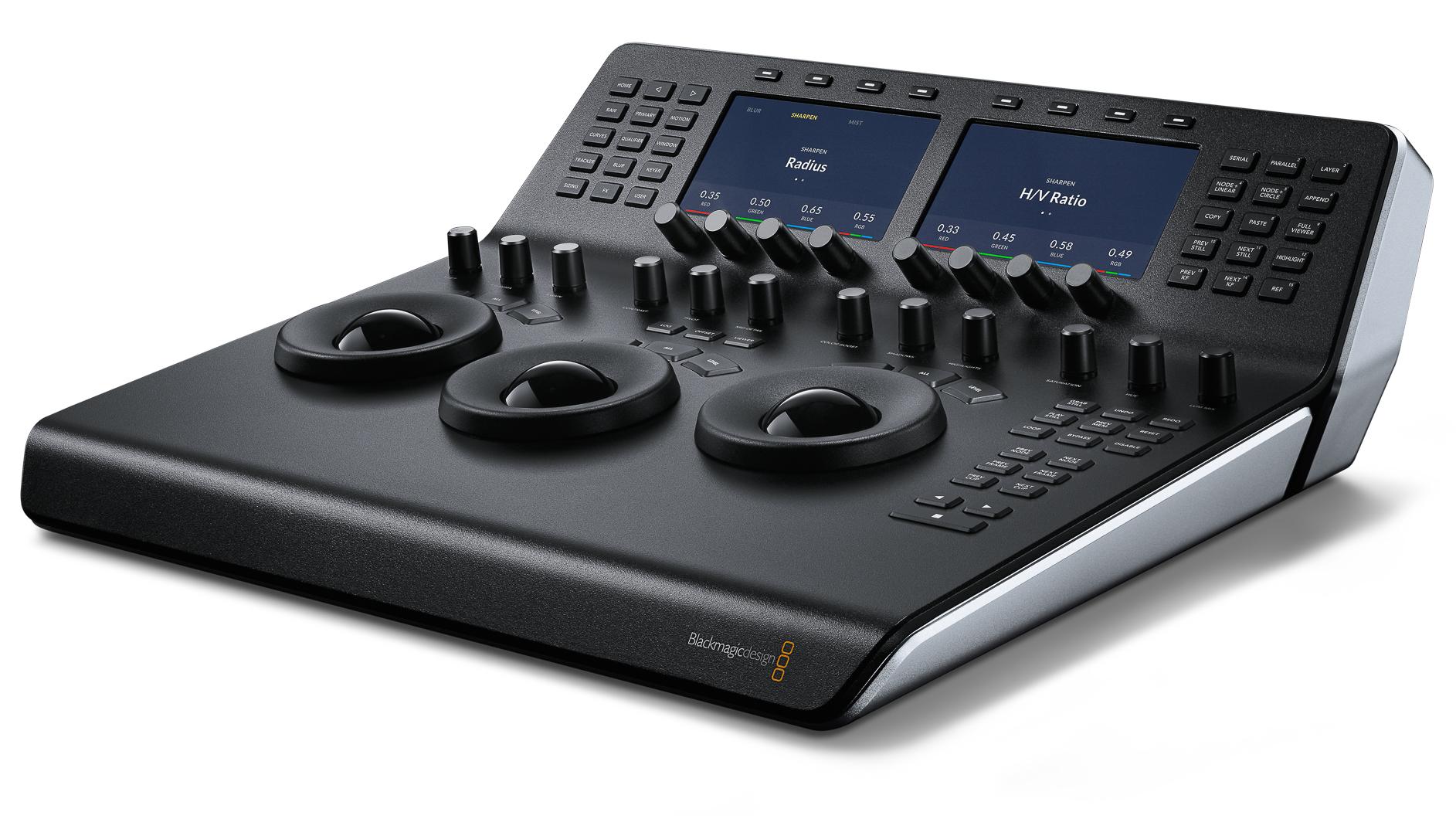 Blackmagic Shows Off Micro and Mini Control Panels: NAB 2017 Video 1