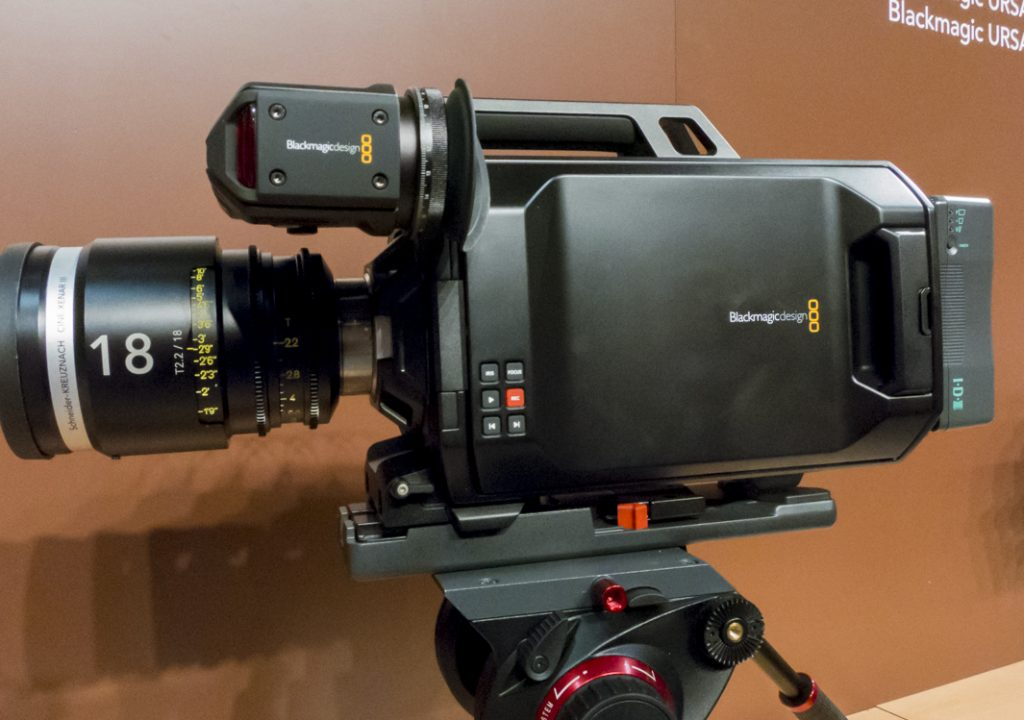 Blackmagic URSA New Sale Price: $1000 Cheaper 1
