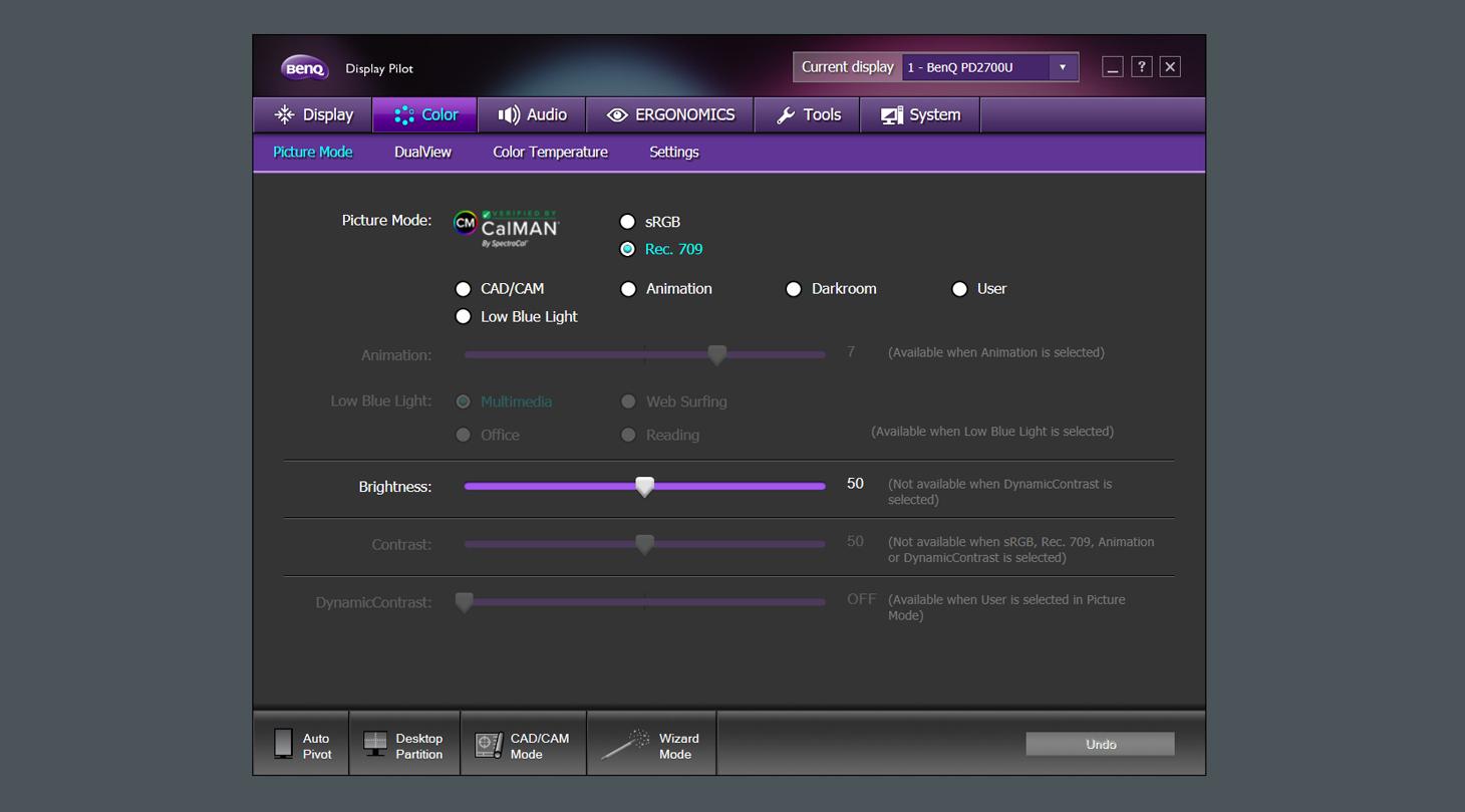 Review: BenQ PD2700U Monitor 14