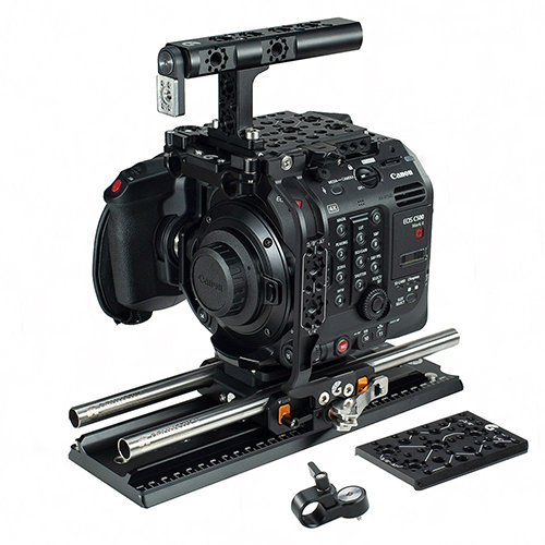Bright Tangerine Left Field Cage for the C500mkII // Tool Talk 7