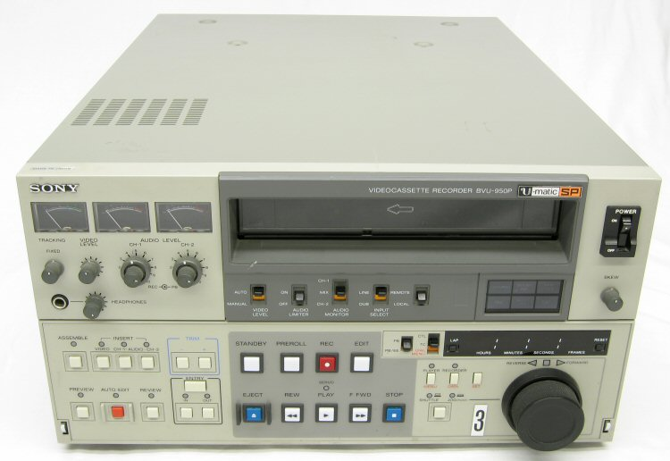 """Sony to revive 3/4"""" U-Matic tape format at NAB 2018? 30"""