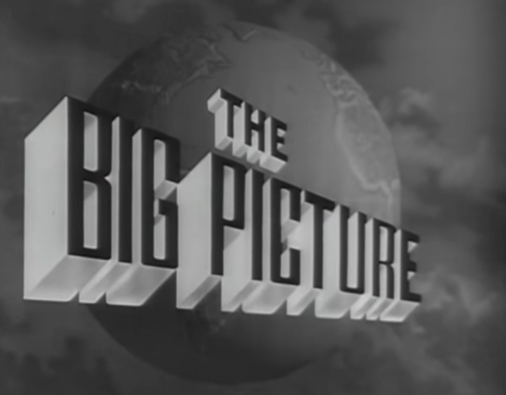 "The US Army's Syndicated Television Program ""The Big Picture"" 1"