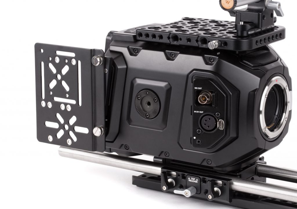 Wooden Camera's URSA Mini Side Plate and Wireless Adapter 1