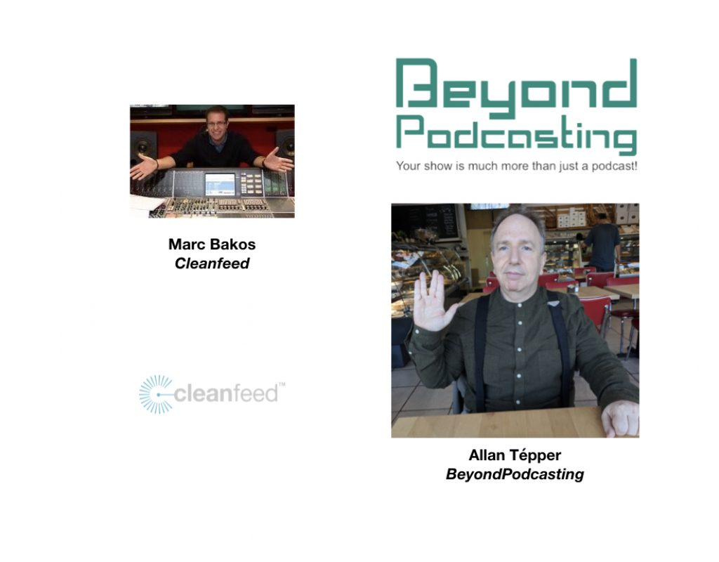 Cleanfeed: remote recording and live broadcasting that's better than a double-ender 5