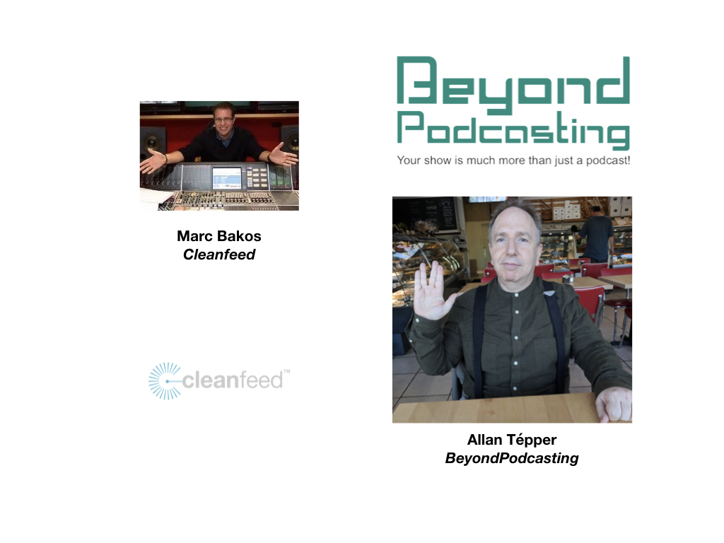 Cleanfeed: remote recording and live broadcasting that's better than a double-ender 6