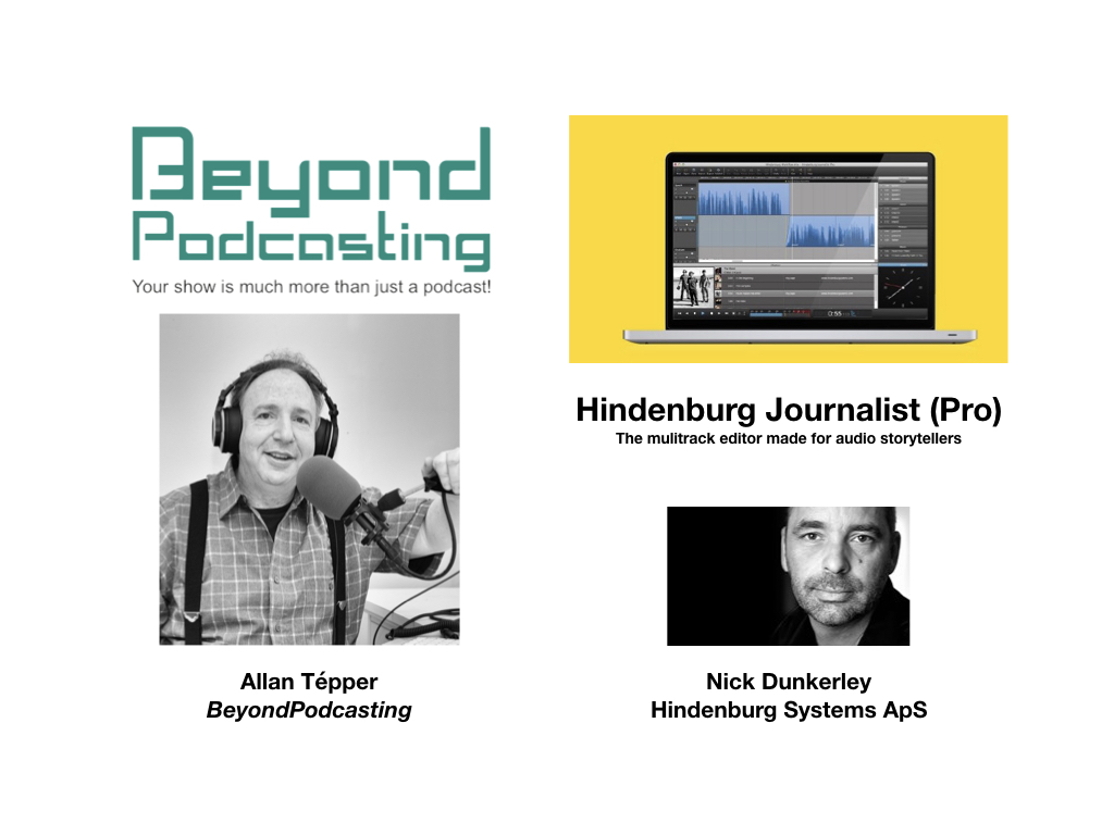 Hindenburg Journalist Pro, the multitrack editor made for audio storytellers 4
