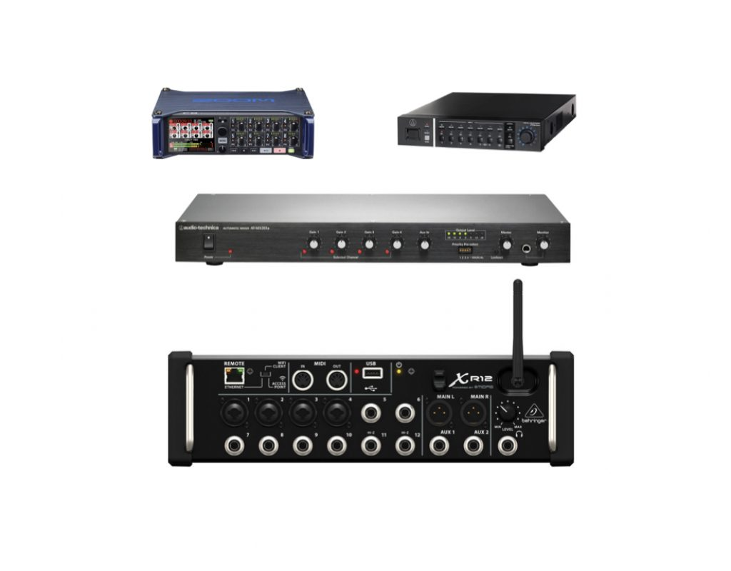 4 automatic audio mixers ≤US$1000 cure bleed/spill/crosstalk 1