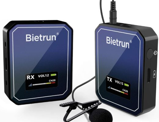 Review: Bietrun WXM22 wireless lavalier microphone system 9