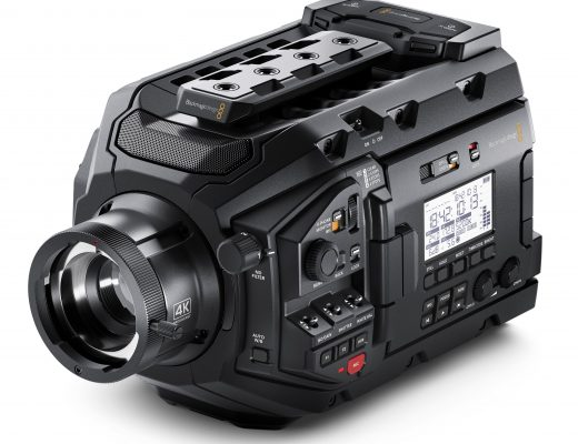 The Blackmagic Design URSA Broadcast Camera