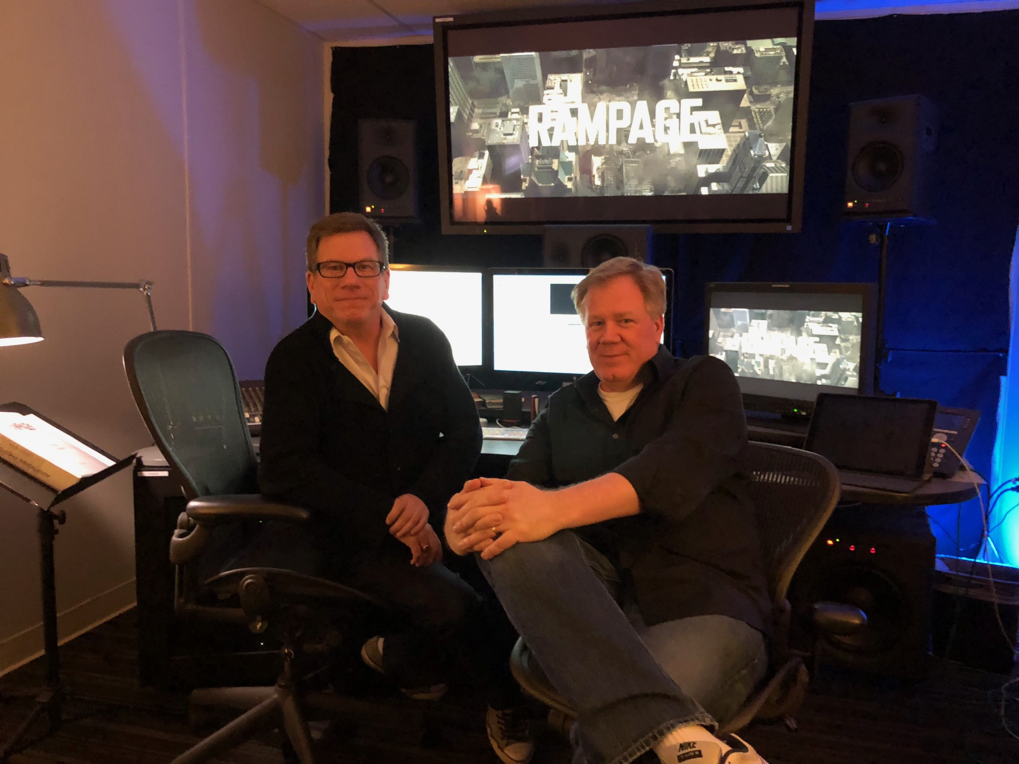 "ART OF THE CUT with ""Rampage"" editors Jim May and Bob Ducsay 2"