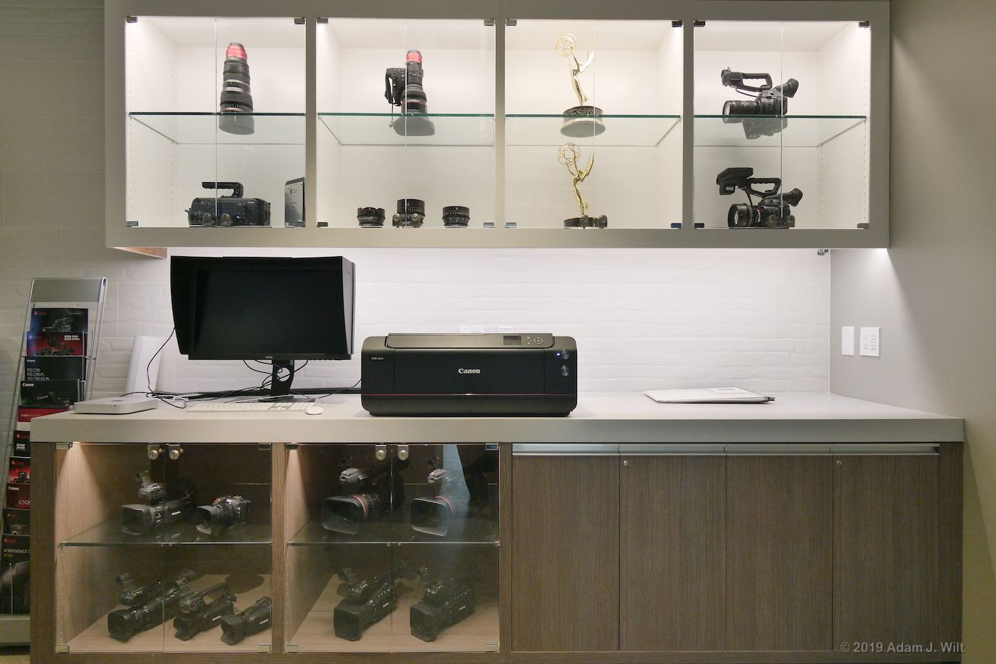 Video and cine cameras and lenses... and two Emmys