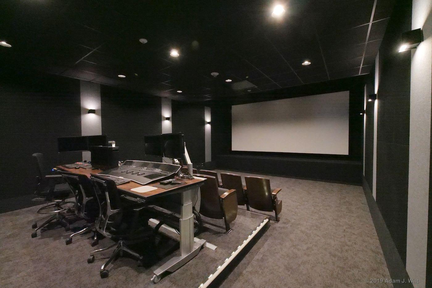 DI grading suite / screening room