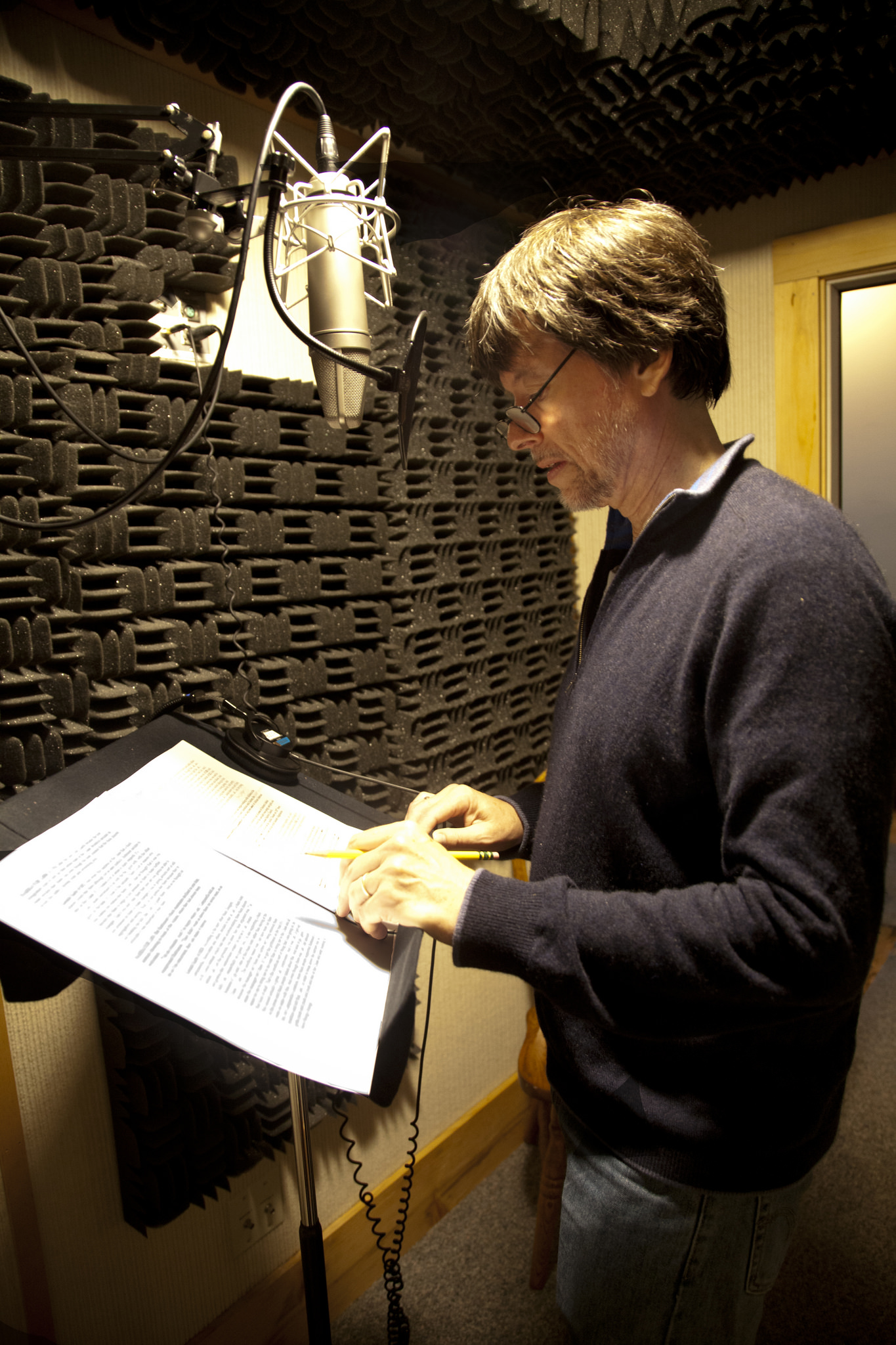 Burns voice over by Mellish