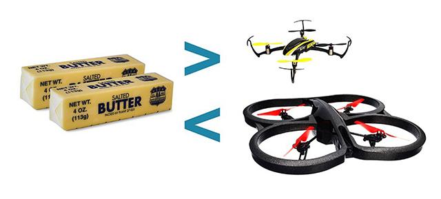 Butter Drone Comparison