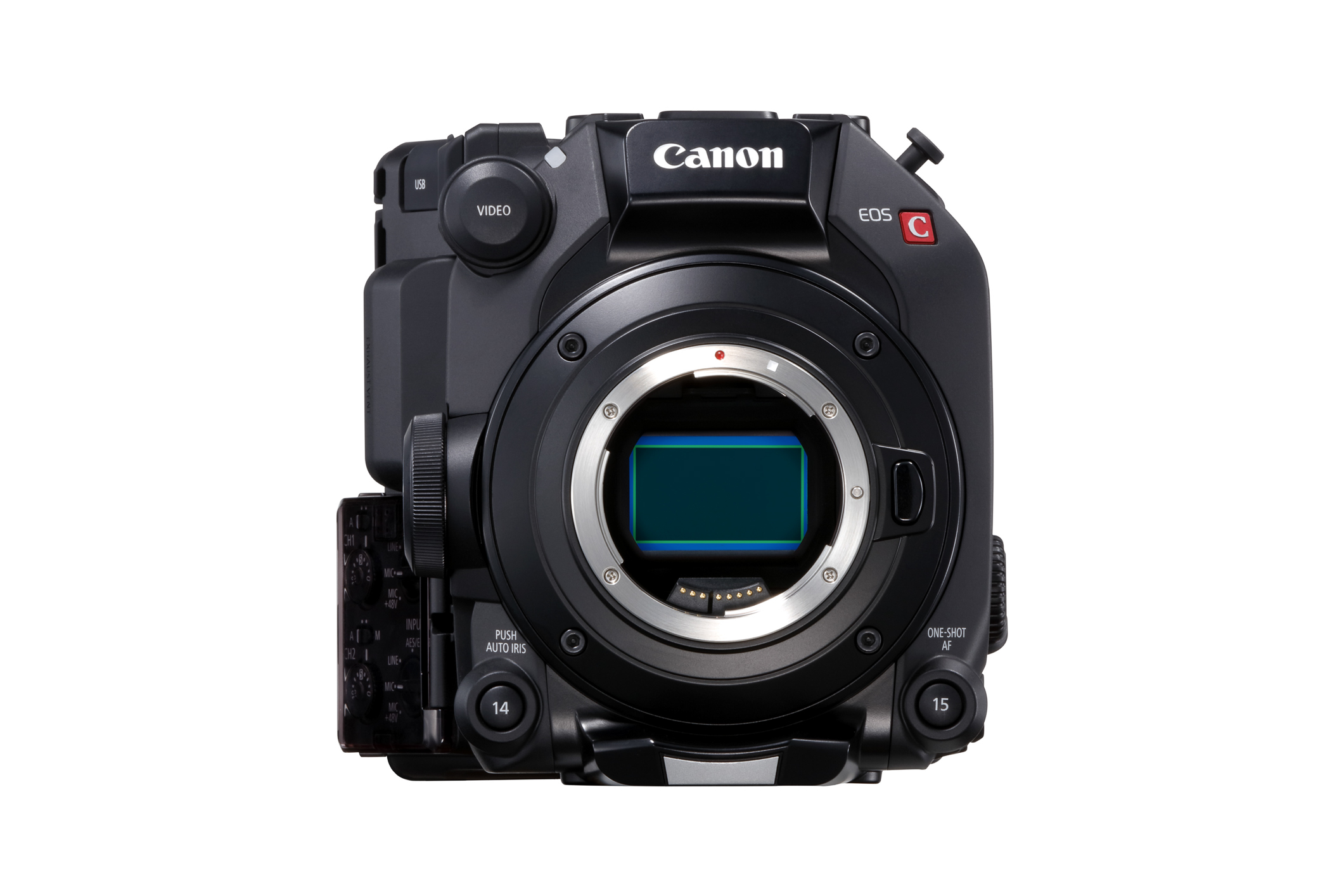 The Canon EOS C500 Mark II