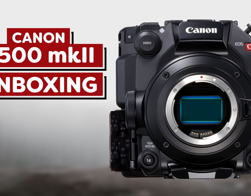 Canon C500 Mark II Unboxing and first impressions video