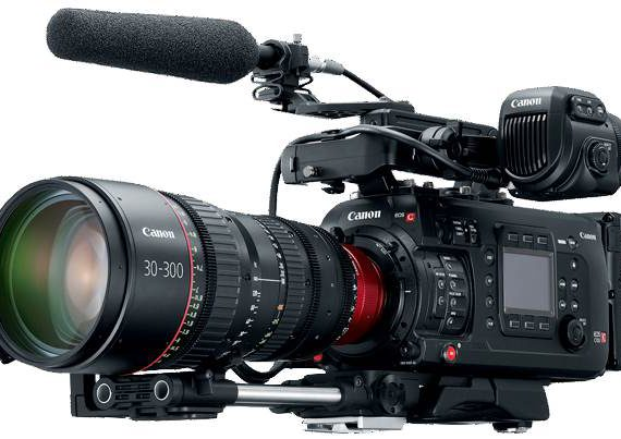Canon C700 cinema camera