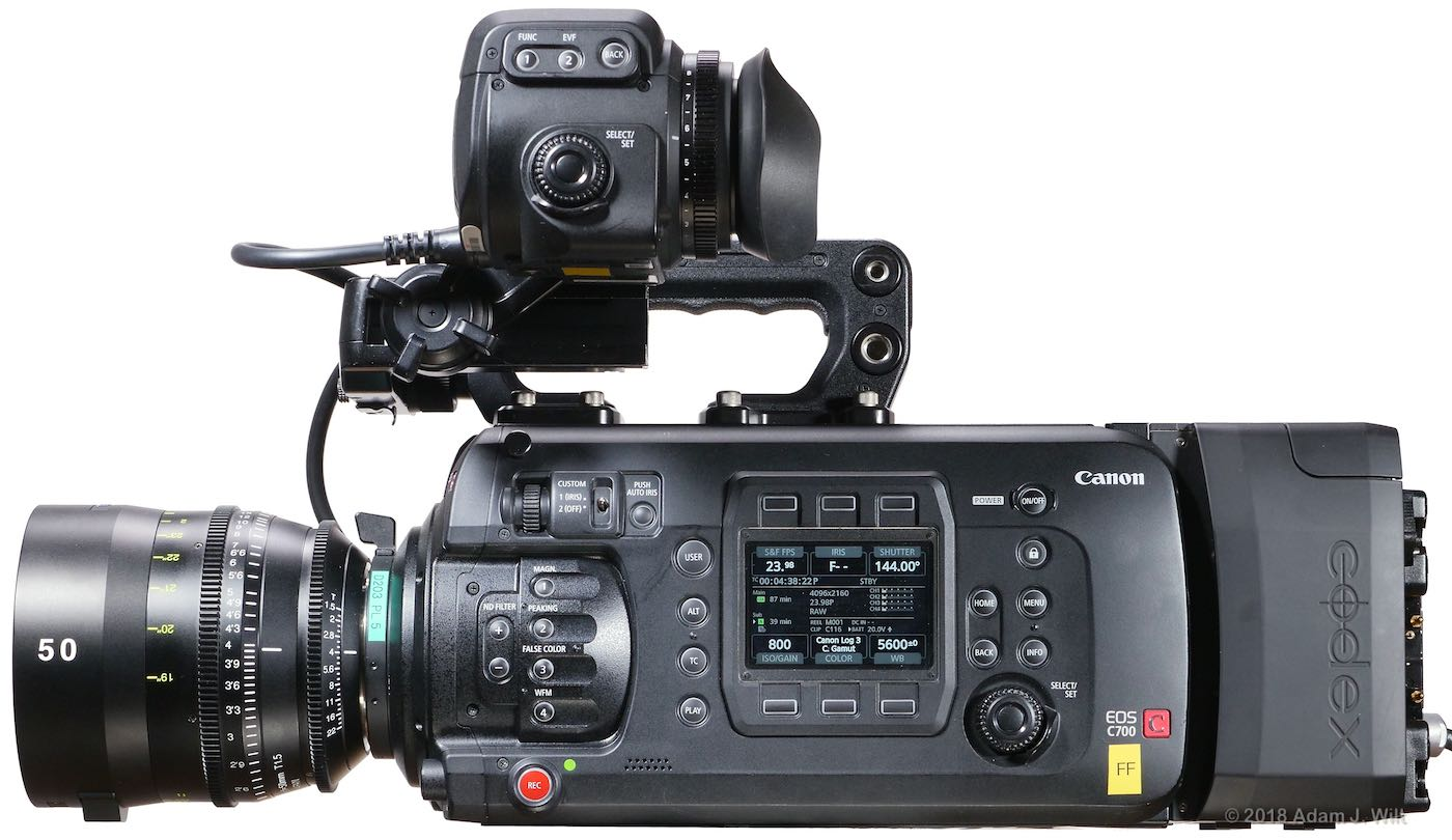 Review: Canon C700 FF Cine Camera, Part 1 by Adam Wilt - ProVideo
