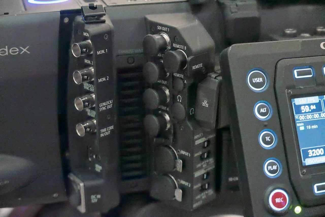 C700 I/O connectors